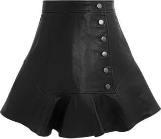 Marissa Webb Ronan Leather Mini Skirt