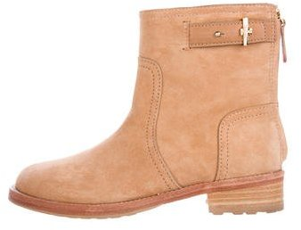 Tory Burch Tory Burch Suede Flat Boots
