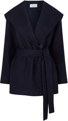 The Row Reyna Short Obi Belt Hooded Jacket