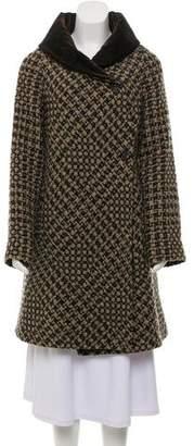 Etro Wool Bouclé Knit Coat