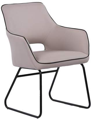 Moe's Home Collection Entice Dining Chair Pearl