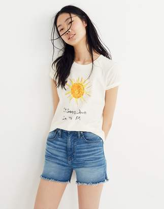 Madewell x Unfortunate Portrait It Goes Down in the PM Tee