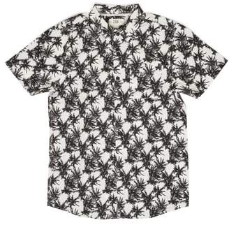 Z.A.K. Brand Vintage Palm Tree Woven Shirt