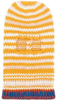 Calvin Klein striped balaclava