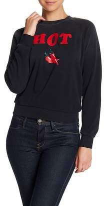 Wildfox Couture Hot Raglan Sweatshirt