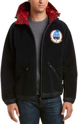 Moncler Maglia Wool-Blend Jacket