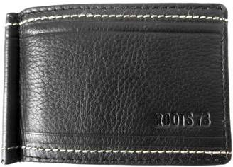 Roots 73 Morbert Leather Money Clip Wallet
