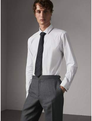 Burberry Modern Fit Double-cuff Stretch-cotton Shirt