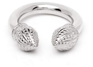 Durrah Jewelry - Silver Cylinder Ring