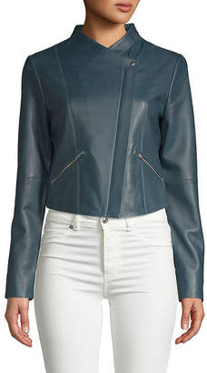Veda Leather Jam Jacket
