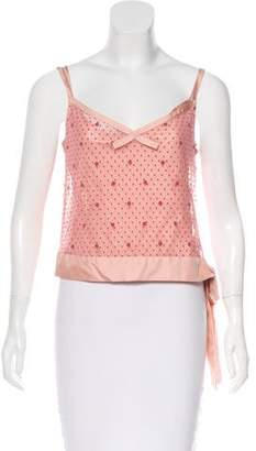 Marc by Marc Jacobs Mesh Crop Top