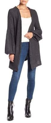 Muche et Muchette Jeanne Metallic Knit Cardigan