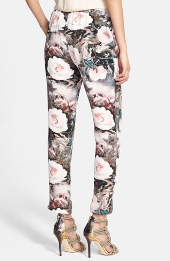 Haute Hippie Slim Silk Pants