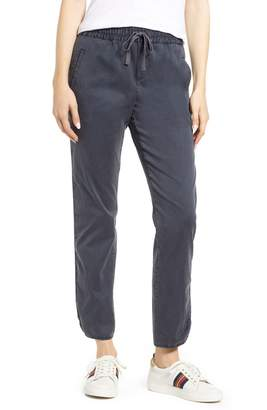 Caslon Sandwashed Pull-On Pants