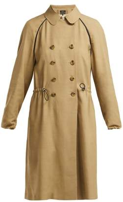 A.P.C. Jackie Twill Trench Coat - Womens - Beige