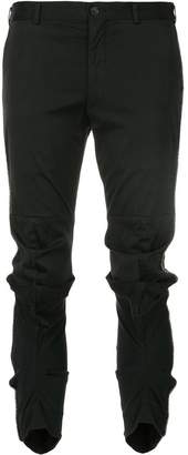 Comme des Garcons abstract knee trousers