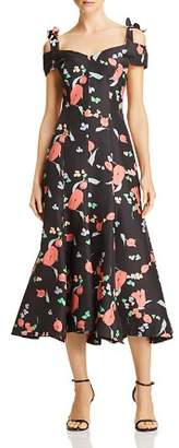 Alice McCall One Kiss Floral Print Midi Dress