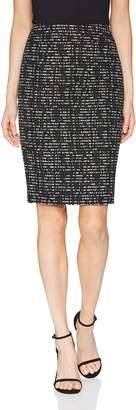 Nine West Women's Jacquard Slim Skirt