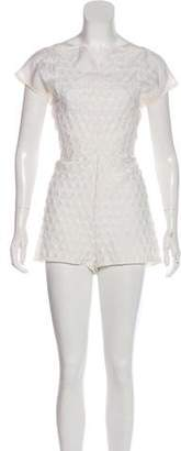 Bottega Veneta Embroidered Sleeveless Romper