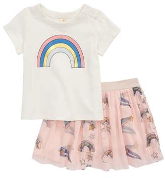 Tucker + Tate Rainbow Tee & Tutu Skirt Set