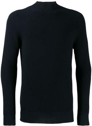 Tagliatore ribbed roll neck jumper