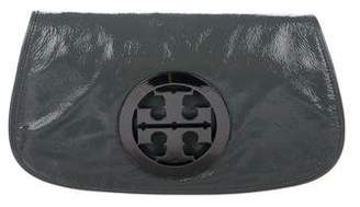 Tory Burch Patent Leather Reva Clutch
