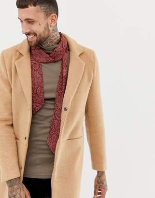 7x 7X paisley skinny scarf