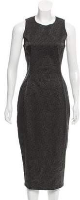 Kimberly Ovitz Brocade Midi Dress w/ Tags