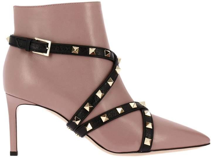 Heeled Booties Shoes Women Valentino Garavani