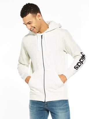 adidas Essentials Full Zip Mens Hoodie