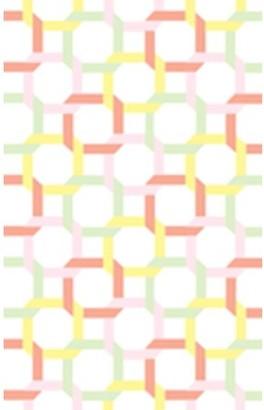 Martha Stewart Color Chain Geometric Area Rug