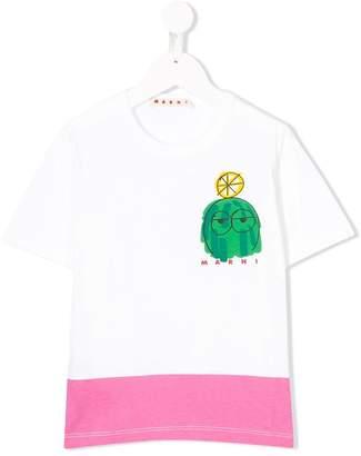 Marni carton print T-shirt