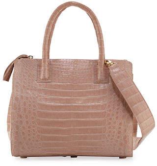Nancy Gonzalez Crocodile Medium Double-Zip Tote Bag