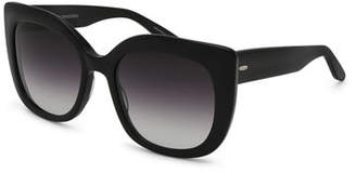 Barton Perreira Olina Gradient Chunky Cat-Eye Sunglasses