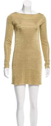 Jay Ahr Long Sleeve Mini Dress