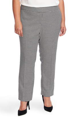 Vince Camuto Houndstooth Ankle Pants