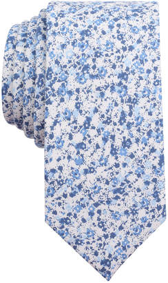 Bar III Men's Dandy Floral Tie, Only at Macy's $55 thestylecure.com