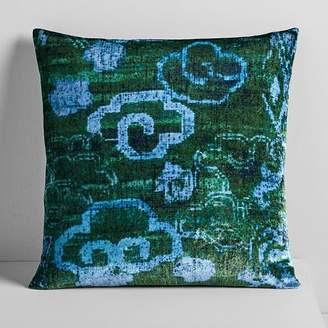 west elm Lush Velvet Chinoiserie Pillow Covers