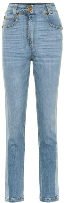 Versace High-rise skinny jeans