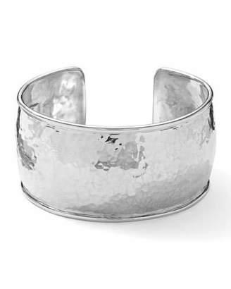 Ippolita Sterling Silver Hammered Cuff Bracelet