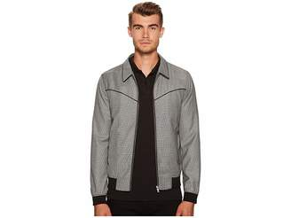 The Kooples Mixed Fabric Jacket Men's Coat