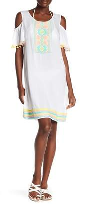 Sorbet AMERICA & BEYOND Embroidered Tunic