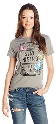 Disney Juniors Alice Stay Weird Graphic Tee $19.99 thestylecure.com