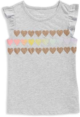Epic Threads Little Girl's Heart Print Tee