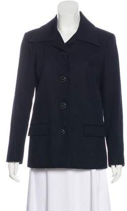 Chanel Ribbed Button-Up Jacket