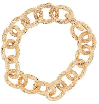 Carolina Bucci 18kt yellow gold Florentine Finish Links bracelet