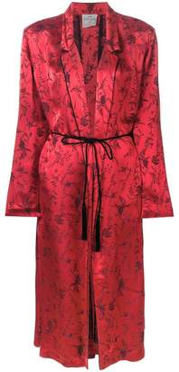 Forte Forte jacquard robe jacket