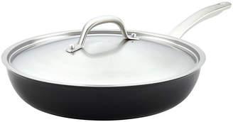 "Circulon Ultimum Forged Aluminum Nonstick Covered 12"" Deep Skillet/Fry Pan"