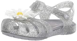 Crocs (クロックス) - [クロックス] サンダル イザベラ チャーム キッズ 205535 Silver 17.5 cm