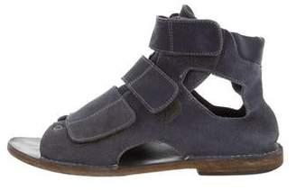 Maison Margiela Suede Strap Sandals